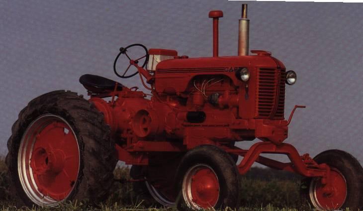 1952 Case Dc Tractor : Case dc