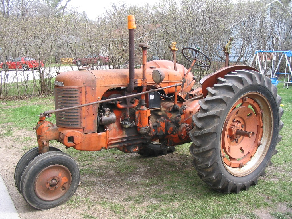 Old Case Tractor : Case sc
